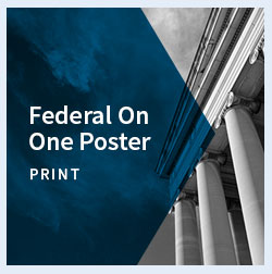 Federal on one poster